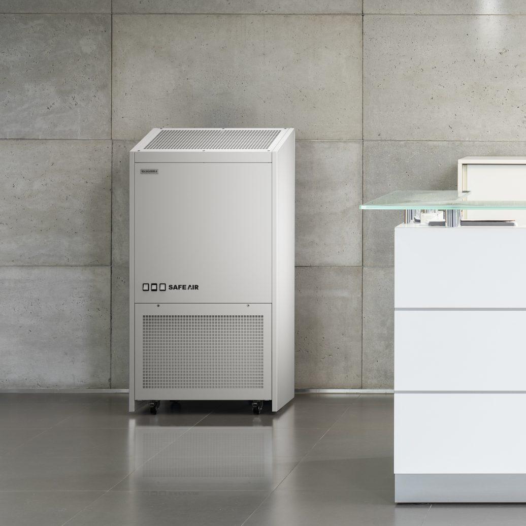 oczyszczacz powietrza dla biura Safe Air Office